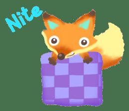 Mini Fox sticker #544632
