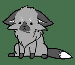 Silver Fox sticker #544955