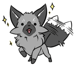 Silver Fox sticker #544956