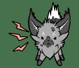 Silver Fox sticker #544957