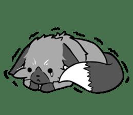 Silver Fox sticker #544958