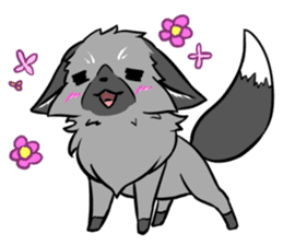 Silver Fox sticker #544959