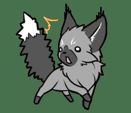 Silver Fox sticker #544960