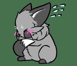 Silver Fox sticker #544964