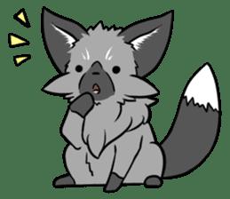 Silver Fox sticker #544965