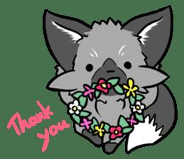 Silver Fox sticker #544969