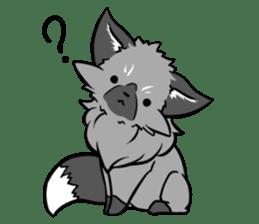 Silver Fox sticker #544971