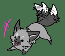 Silver Fox sticker #544973