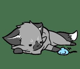 Silver Fox sticker #544975