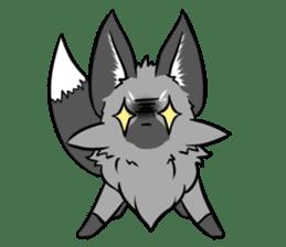 Silver Fox sticker #544977