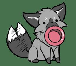 Silver Fox sticker #544980