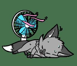 Silver Fox sticker #544983