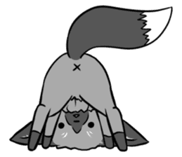 Silver Fox sticker #544986