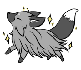 Silver Fox sticker #544987