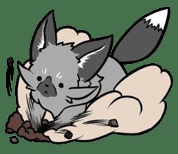 Silver Fox sticker #544991