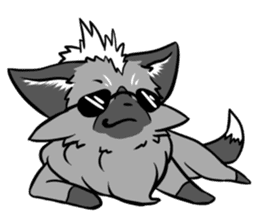 Silver Fox sticker #544992