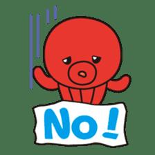 Takochin (A lovely octopus) sticker #545195