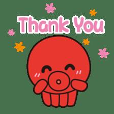 Takochin (A lovely octopus) sticker #545196