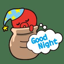 Takochin (A lovely octopus) sticker #545200