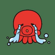 Takochin (A lovely octopus) sticker #545201