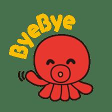 Takochin (A lovely octopus) sticker #545202
