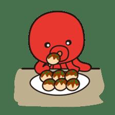 Takochin (A lovely octopus) sticker #545211