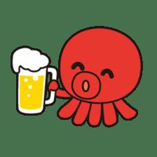 Takochin (A lovely octopus) sticker #545212