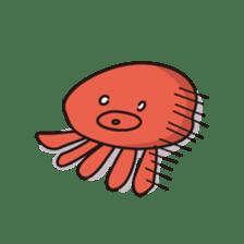 Takochin (A lovely octopus) sticker #545213