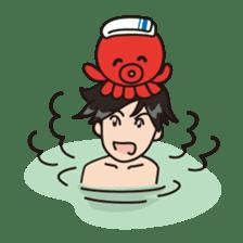 Takochin (A lovely octopus) sticker #545215