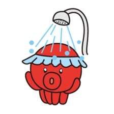 Takochin (A lovely octopus) sticker #545216