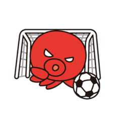 Takochin (A lovely octopus) sticker #545224