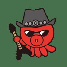 Takochin (A lovely octopus) sticker #545225
