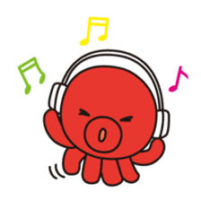 Takochin (A lovely octopus) sticker #545227