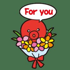 Takochin (A lovely octopus) sticker #545229