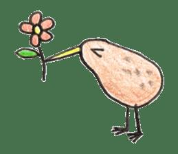 Pretty Kiwi sticker #545276