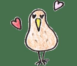 Pretty Kiwi sticker #545279