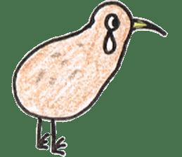 Pretty Kiwi sticker #545282