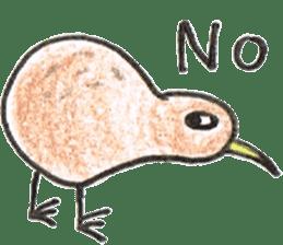 Pretty Kiwi sticker #545284