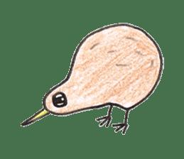 Pretty Kiwi sticker #545288