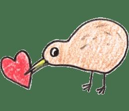 Pretty Kiwi sticker #545300