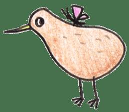 Pretty Kiwi sticker #545303