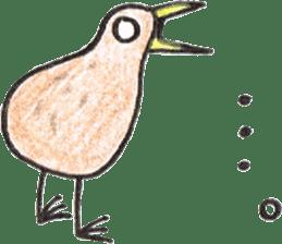 Pretty Kiwi sticker #545304