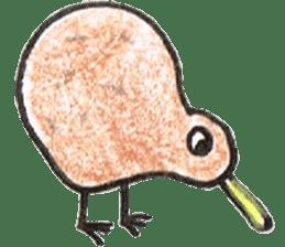 Pretty Kiwi sticker #545309