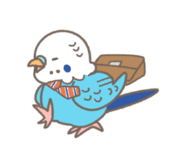 I am budgie! sticker #545418