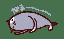 White Cat and Gray Cat sticker #545636