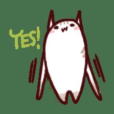 White Cat and Gray Cat sticker #545641