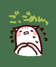 White Cat and Gray Cat sticker #545658