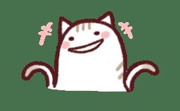 White Cat and Gray Cat sticker #545661