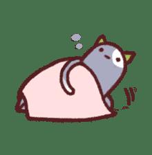 White Cat and Gray Cat sticker #545667