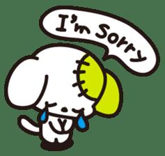 Lucky & Friends (English Ver.) sticker #547563
